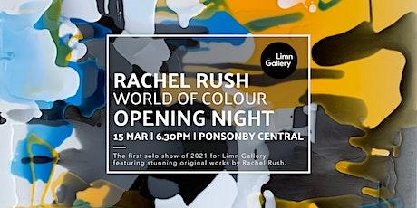 Rachel Rush 'World of Colour' Opening Night tickets