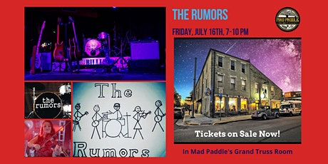 The Rumors at Mad Paddle Brewstillery tickets