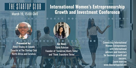 International Women's Entrepreneurship Growth and Investment Conference tickets