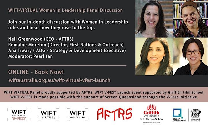 WIFT V-FEST Launch & WIFT VIRTUAL Panel: Women in Leadership image