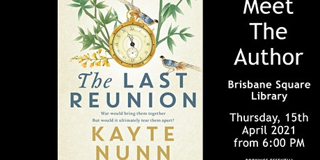 FREE EVENT - Meet Kayte Nunn tickets
