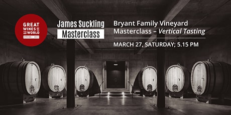 Great Wines of the World Masterclass: Bryant Family Vineyard Vertical tickets