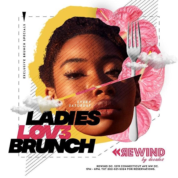 Ladies Lov3 Brunch | DC  {Saturdays} image