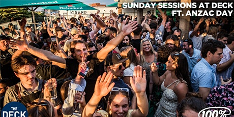 ANZAC DAY at Sunday Sessions at Deck, Frankston - Strictly 21+ Only tickets