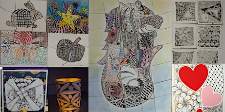 Zentangle Art Course starts  April 9  (8 sessions) tickets