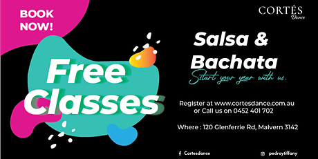 Learn to Dance BACHATA / FREE CLASS tickets