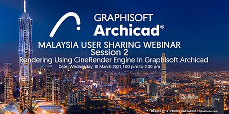 Rendering Using CineRender Engine In Graphisoft Archicad tickets
