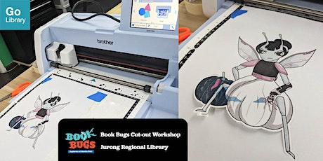 Book Bugs Cut-out Workshop | Jurong Regional Library tickets