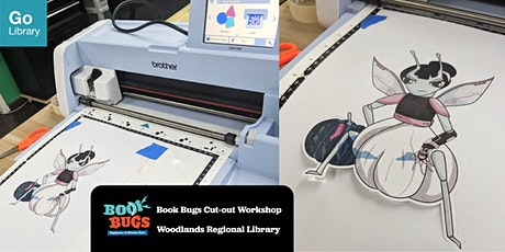 Book Bugs Cut-out Workshop | Woodlands Regional Library tickets