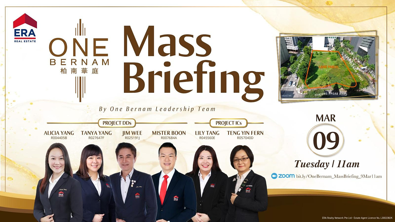 One Bernam Mass Briefing