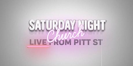 Saturday Night Church: Live from Pitt Street tickets