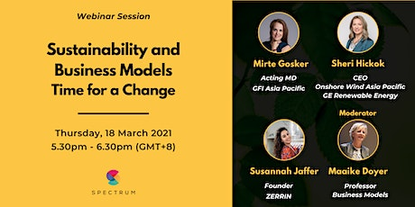 Sustainability and Business Models - Time for a Change tickets