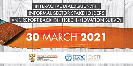 Interactive Dialogue | Informal Sector | Innovation Survey | South Africa tickets