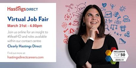 Hastings Direct Virtual Job Fair tickets