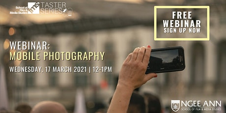Webinar: Mobile Photography tickets