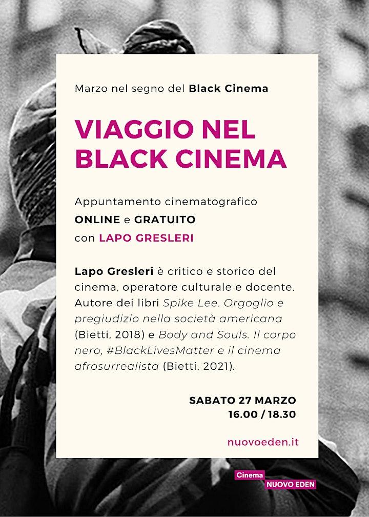 Immagine Viaggio nel Black Cinema