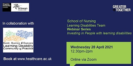 Investing in People with learning disabilities tickets