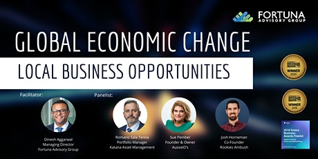 Global Economic Change: Local Business Opportunities tickets