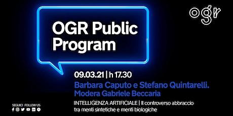 Scintille -Intelligenza Artificiale/ Barbara Caputo e Stefano Quintarelli biglietti