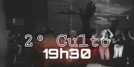 CULTO NOITE  - DOMINGO 07/03 ingressos