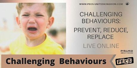 Challenging Behaviours: PRR -  Online Training - December tickets