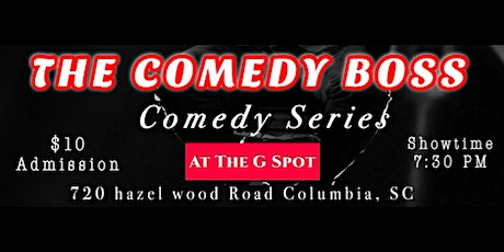 The Comedy Boss tickets