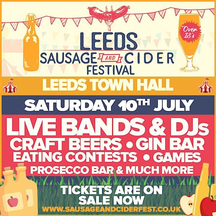 Sausage And Cider Fest - Leeds image