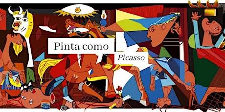 Art Club - Pinta como Picasso en ESPAÑOL tickets