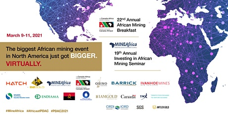 22nd African Mining Breakfast & 19th Investing in African Mining Seminar tickets