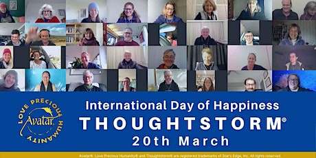 Online International Day of Happiness Thoughtstorm® tickets