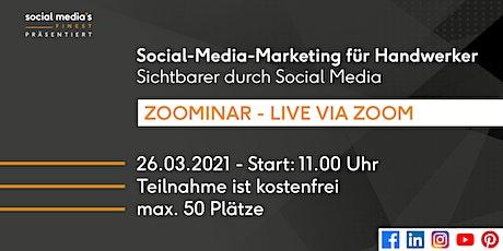 Social-Media-Marketing für Handwerker: Sichtbarer durch Social Media Tickets
