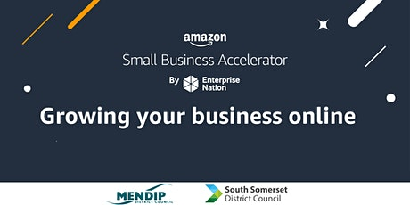 Amazon Small Business Accelerator: Growing your business online tickets