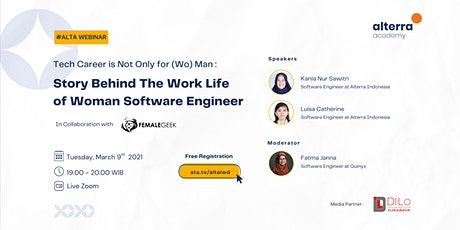 ALTA WEBINAR : Story Behind The Work Life  of Woman Software Engineer Tickets
