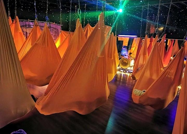 REIKI infused - Floating Sound Meditation - in hammocks image