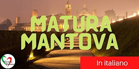 Virtual Tour of Italian Cities - Matura Mantova tickets