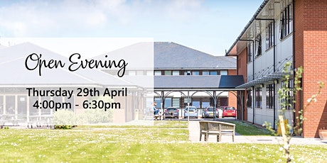 Open Evening tickets