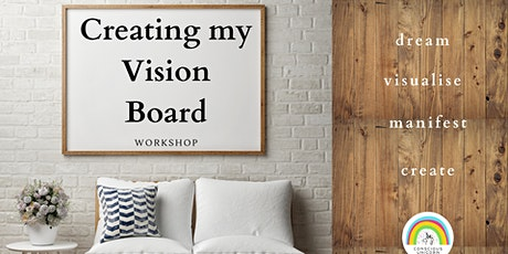 Creating My Vision Board Workshop tickets