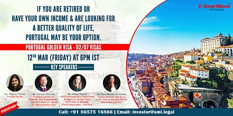 FREE Webinar - Invest in Portugal & Secure Your Future! tickets