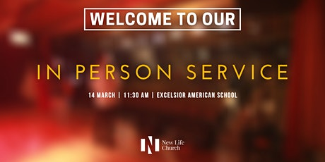 14 March 2021 | In Person Service | New Life Church tickets