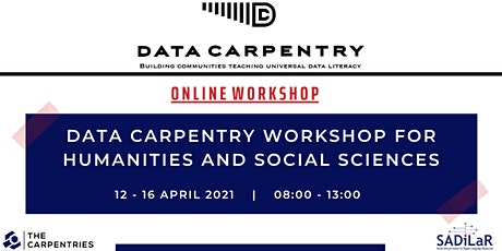 Data Carpentry Workshop for Humanities and Social Sciences tickets