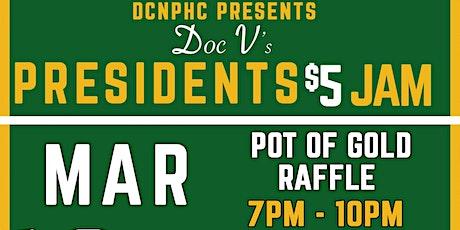 DCNPHC President's $5 Jam: Pot of Gold tickets