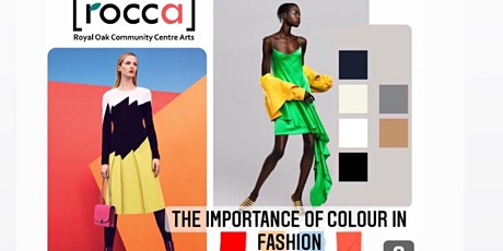 The Importance of Colour in Fashion tickets