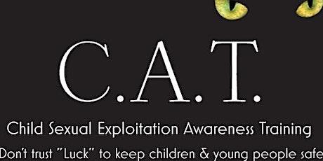 Child sexual exploitation awareness tickets