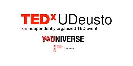 TEDxUDeusto 2021 - YOUniverse entradas