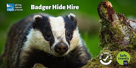 Badger Hide | Exclusive Hire tickets