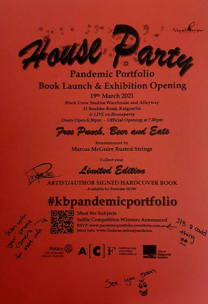 House Party - Pandemic Portfolio Book Launch and Exhibition Opening image