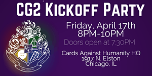 CG2 2015 Kick-Off Party