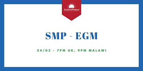 SMP Extraordinary General Meeting ingressos