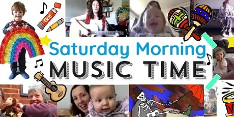 Saturday Morning Music Time (single session booking) tickets
