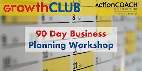 90 Day Business Planning Workshop - Q4 tickets
